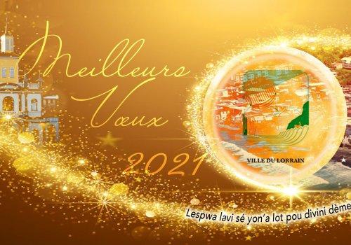 Voeux 2021   Ville du LORRAIN